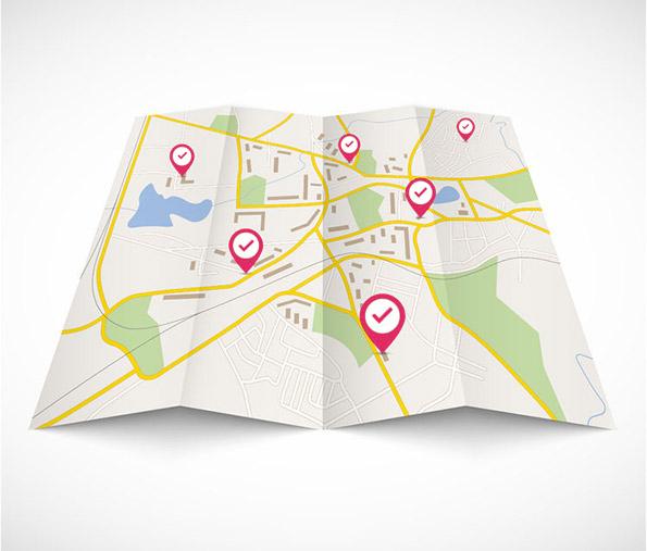 mapa s bodmi
